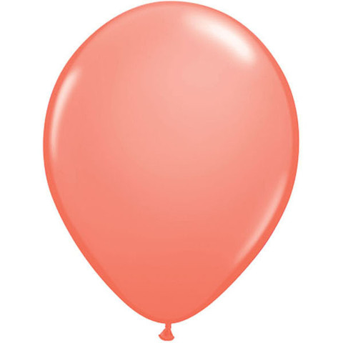 BALLOONS LATEX - CORAL FASHION TONE PACK OF 100