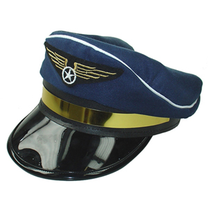 PILOT ADULT HAT - BLUE