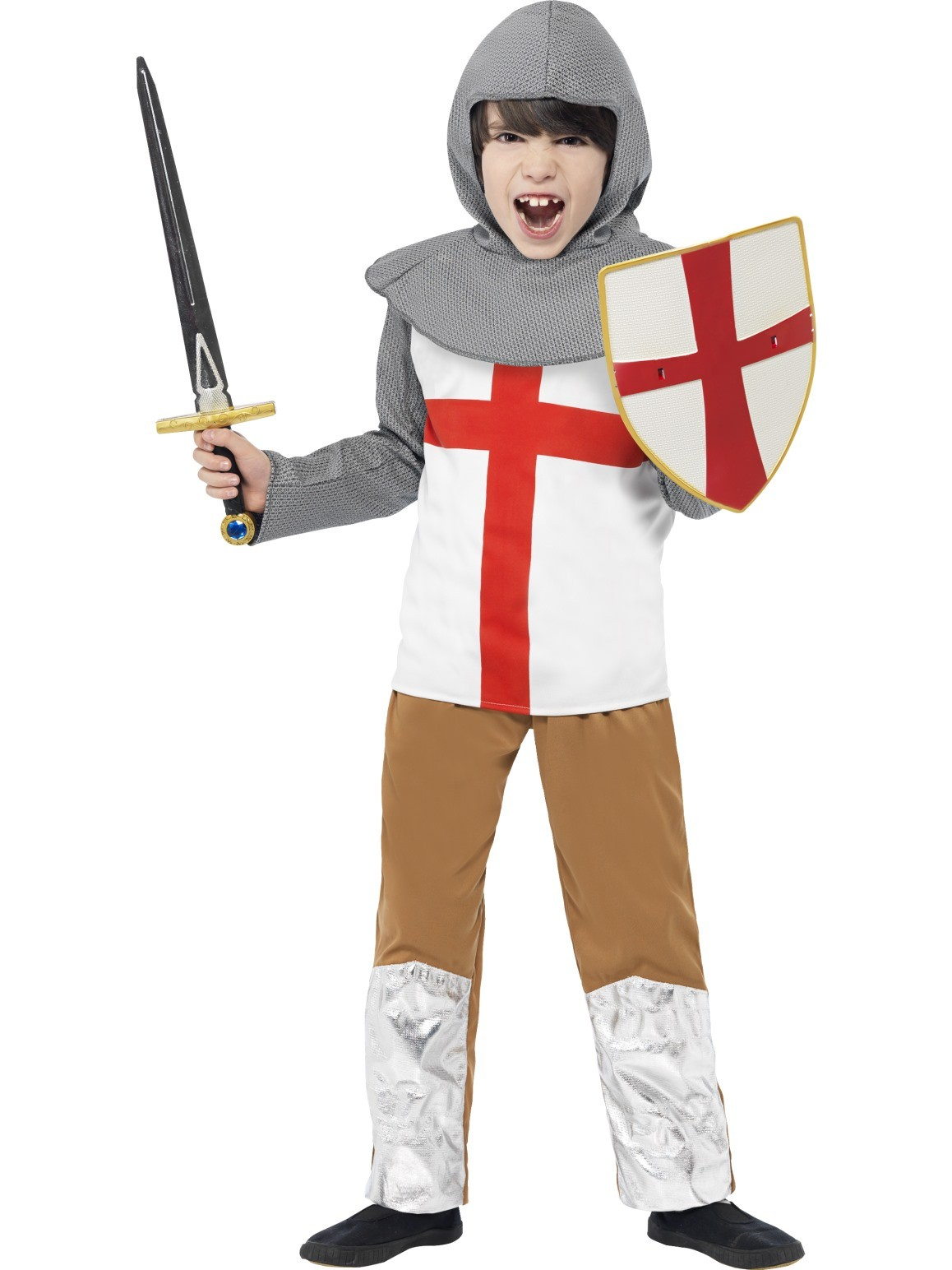 KNIGHT ST GEORGE TUNIC COSTUME FOR BOYS