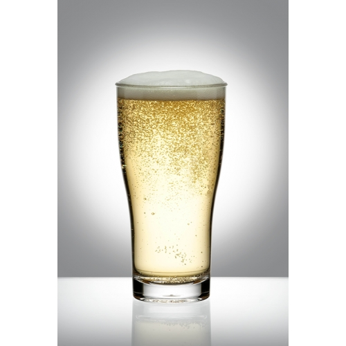 BEER GLASS 285ML MIDDY - PACK OF 24 POLYCARBONATE GLASSES