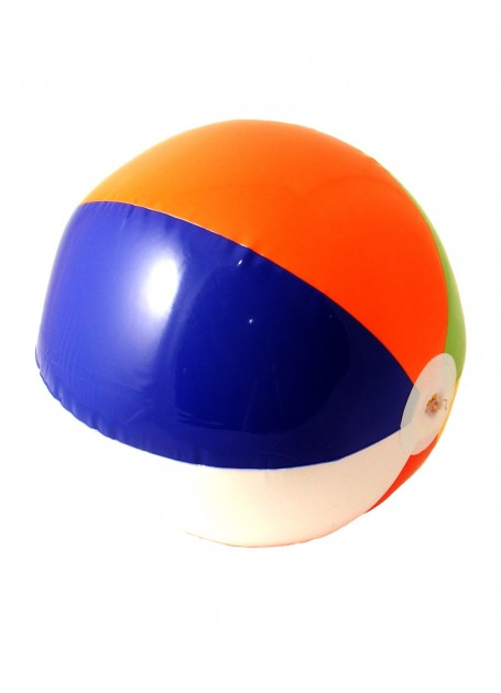 BEACH BALL RED, WHITE, BLUE, LIME, ORANGE & YELLOW