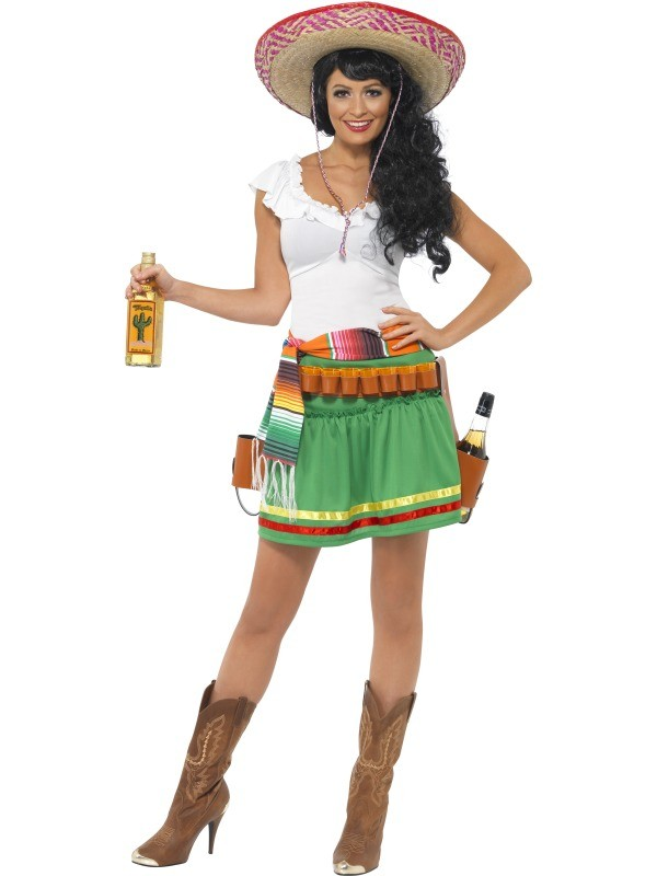 MEXICAN TEQUILA SHOOTER LADIES COSTUME - MEDIUM