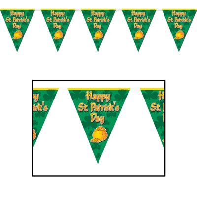 ST PATRICK'S DAY PENNANT BANNER