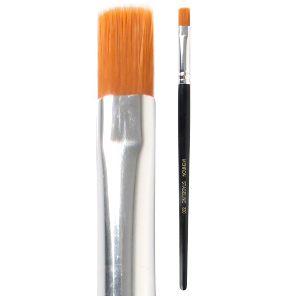 MEHRON STAGELINE FLAT END BRUSH 3/8""