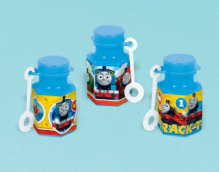 THOMAS THE TANK PARTY FAVOUR BUBBLES PACK 12