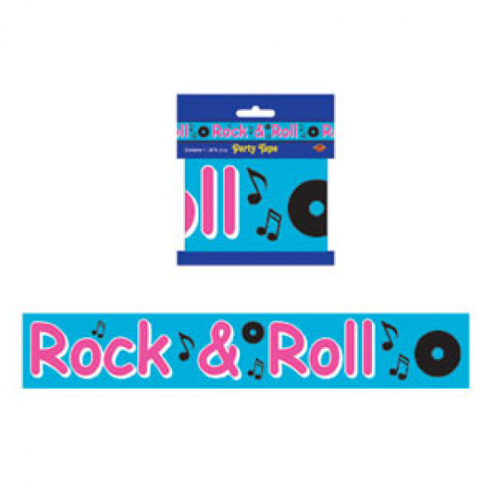 1950'S ROCK N ROLL DECORATING PARTY TAPE