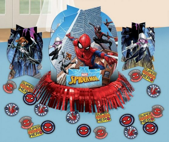 SPIDERMAN TABLE DECORATION SET