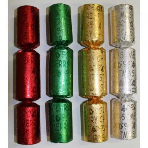 BON BONS - RED, GREEN, GOLD & SILVER BULK PACK 100