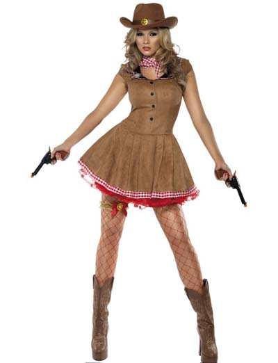 Image of Wild West Cowgirl Costume
