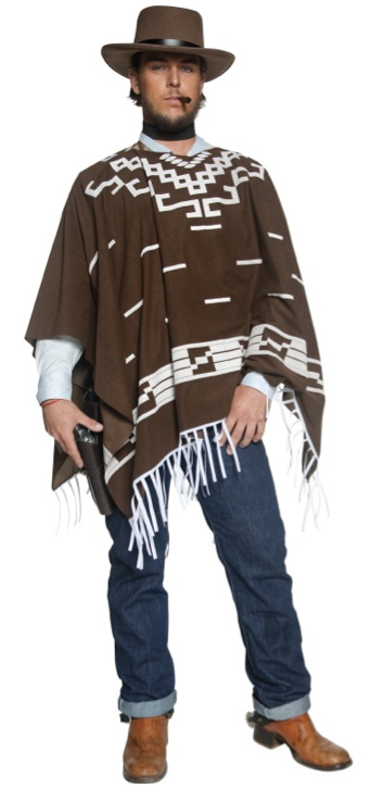 CLINT EASTWOOD STYLE FANCY DRESS COSTUME