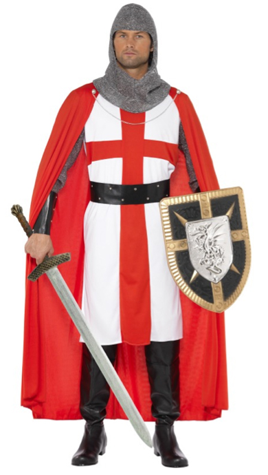 MEDIEVAL KNIGHT OF ST GEORGE