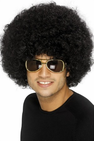 AFRO WIGS 60'S & 70'S - 3 COLOURS AVAILABLE