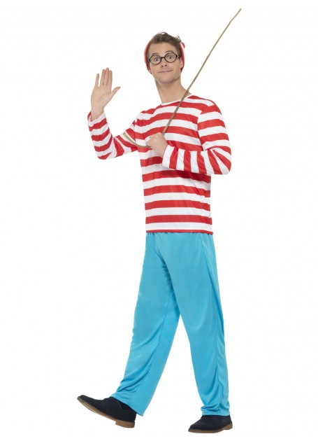 WHERE'S WALLY COSTUME - MEDIUM