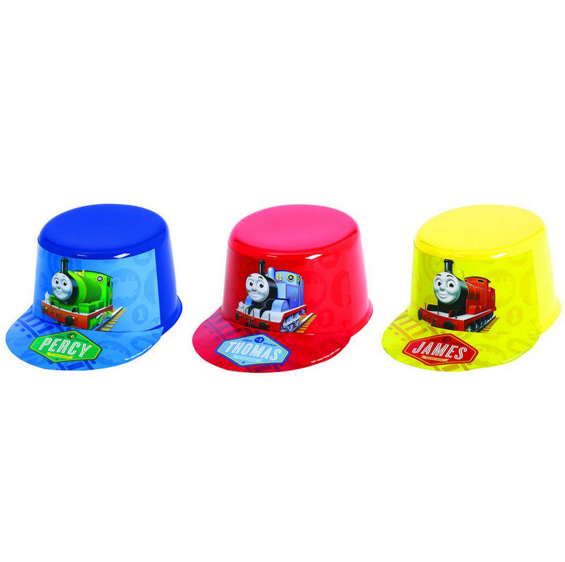 THOMAS THE TANK ENGINE TRAIN CONDUCTORS CAP - SET OF 1