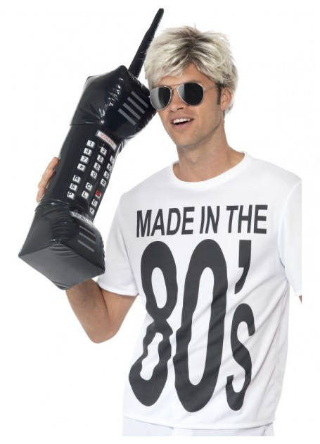 MADE IN THE 80'S INFLATABLE RETRO MOBILE PHONE
