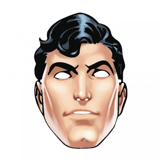 SUPERMAN MASKS - PACK OF 8