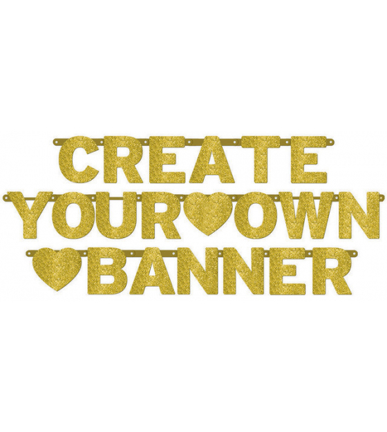 GIANT BANNER - CREATE YOUR OWN CUSTOMISABLE BANNER