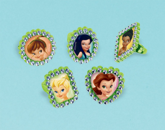 DISNEY TINKERBELL PARTY RINGS