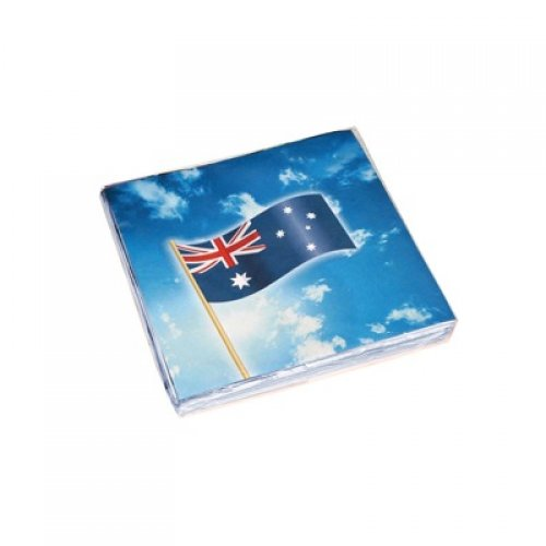 AUSTRALIAN PRINT NAPKINS PACK OF 16