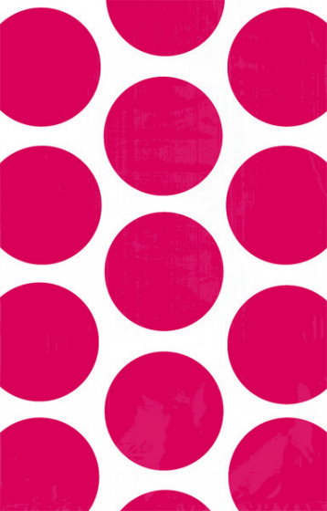 PAPER LOOT BAGS - RED POLKA DOT - PACK OF 10