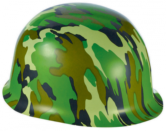 ARMY CAMOUFLAGE MILITARY HARD HAT