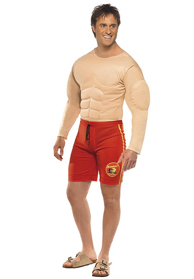 BAYWATCH LIFEGUARD SUIT COSTUME  sc 1 st  Party Supplies & Baywatch Lifeguard Suit Costume - Party Supplies Online ...