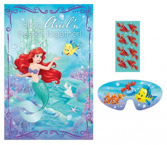 MERMAID ARIEL DREAM - PARTY GAME