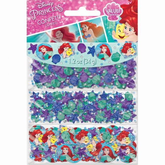 MERMAID ARIEL DREAM - BIG CONFETTI PACK