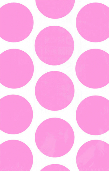 PAPER LOOT BAGS - NEW PINK POLKA - PACK OF 10