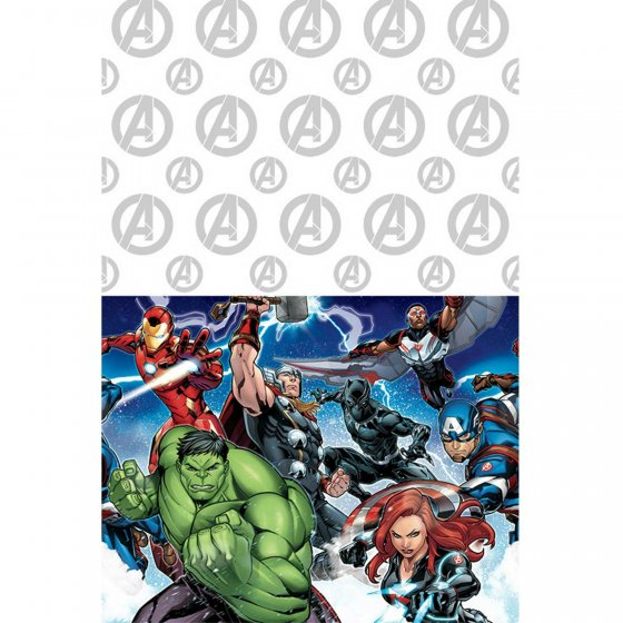 AVENGERS PARTY TABLE COVER