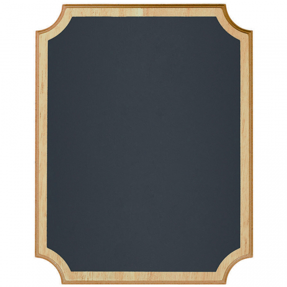 CHALKBOARD SIGN MDF EASEL - NATURAL