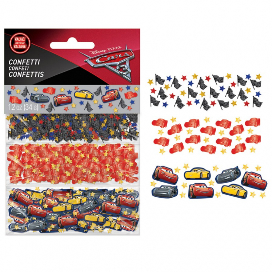 CARS 3 - VALUE PACK CONFETTI