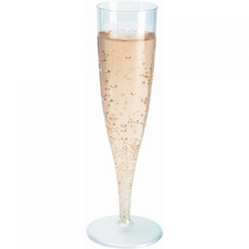 DUNI ONE PIECE CHAMPAGNE FLUTES - PACK OF 10