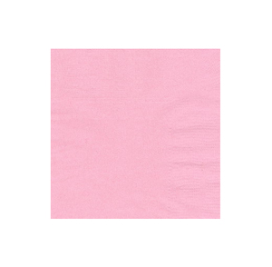 NAPKINS - PALE PINK COCKTAIL PK 50