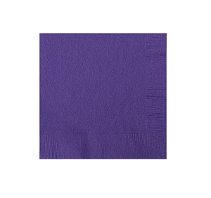 NAPKINS - PURPLE COCKTAIL PK OF 50