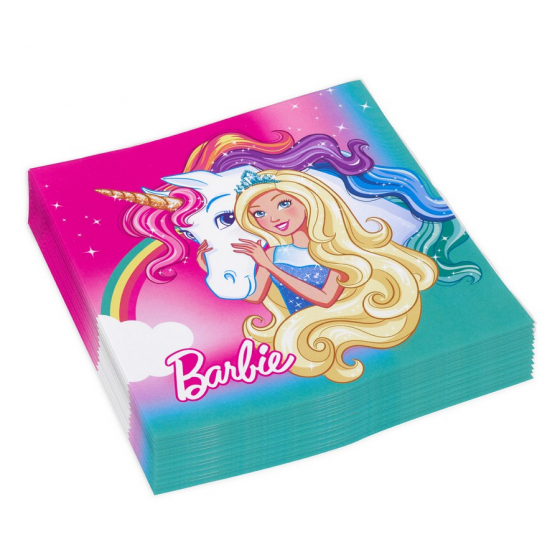 BARBIE DREAMTOPIA NAPKINS - PACK OF 16
