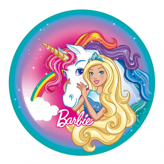 BARBIE DREAMTOPIA DINNER PLATES - PACK OF 8