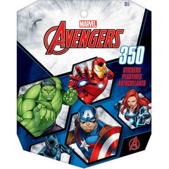 AVENGERS PARTY STICKER BOOK