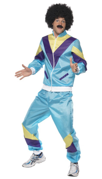 1980'S SHELL SUIT HIP HOP/BREAKDANCE COSTUME
