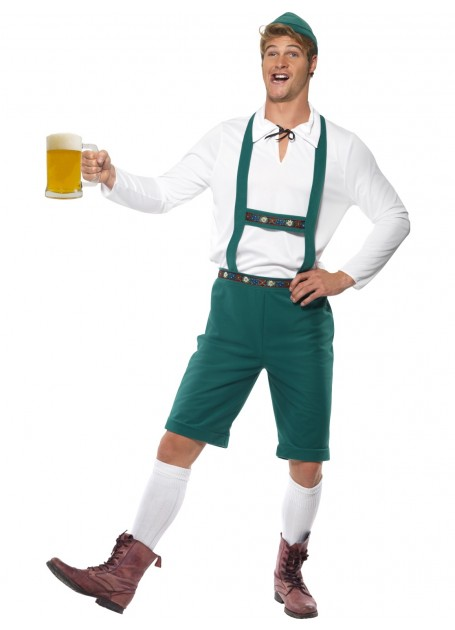 OKTOBERFEST MEN'S GREEN COSTUME