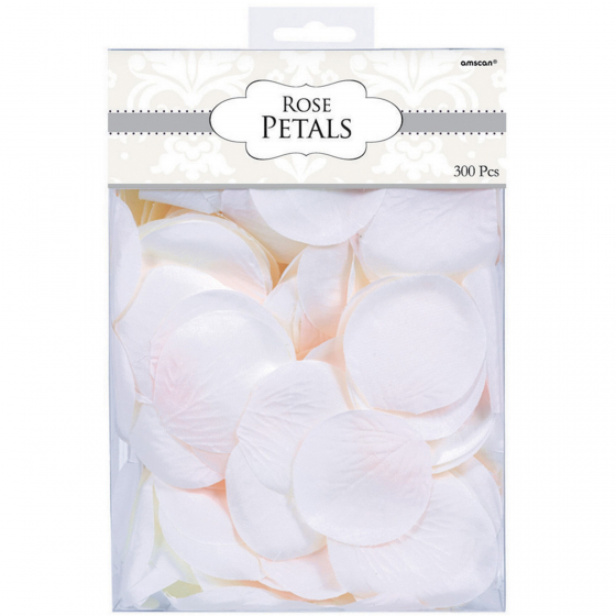 FABRIC PETALS CONFETTI - ROSE WHITE