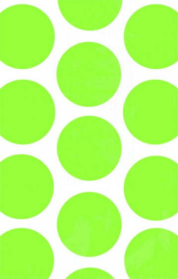 PAPER LOOT BAGS - KIWI LIME POLKA DOT - PACK OF 10