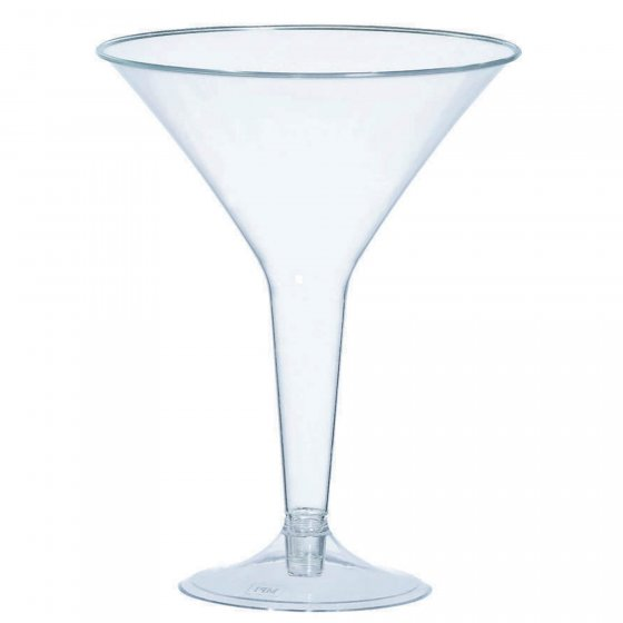 ELEGANT MARTINI GLASSES - BULK PACK 20