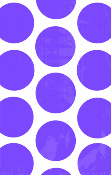 PAPER LOOT BAGS - PURPLE POLKA - PACK OF 10