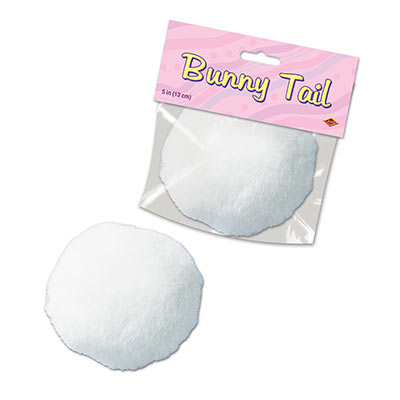 BUNNY TAIL - PLUSH WHITE