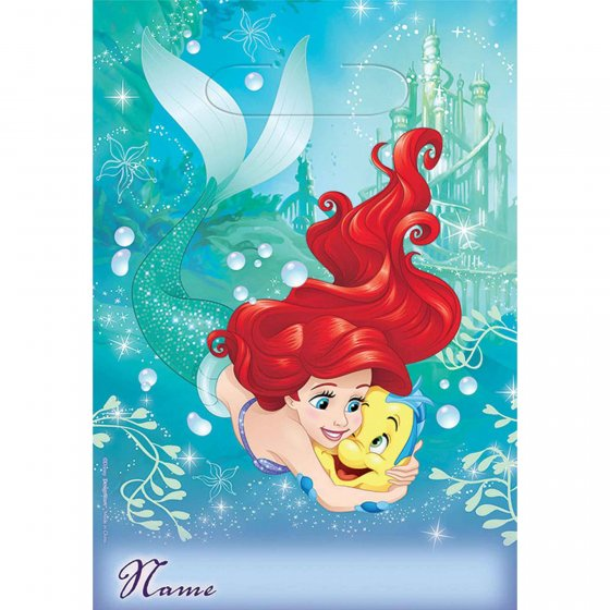 MERMAID ARIEL DREAM - LOOT BAGS PACK OF 8
