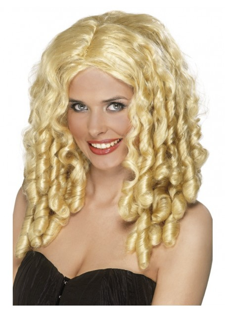 FILM STAR WIG - BLONDE RINGLETS