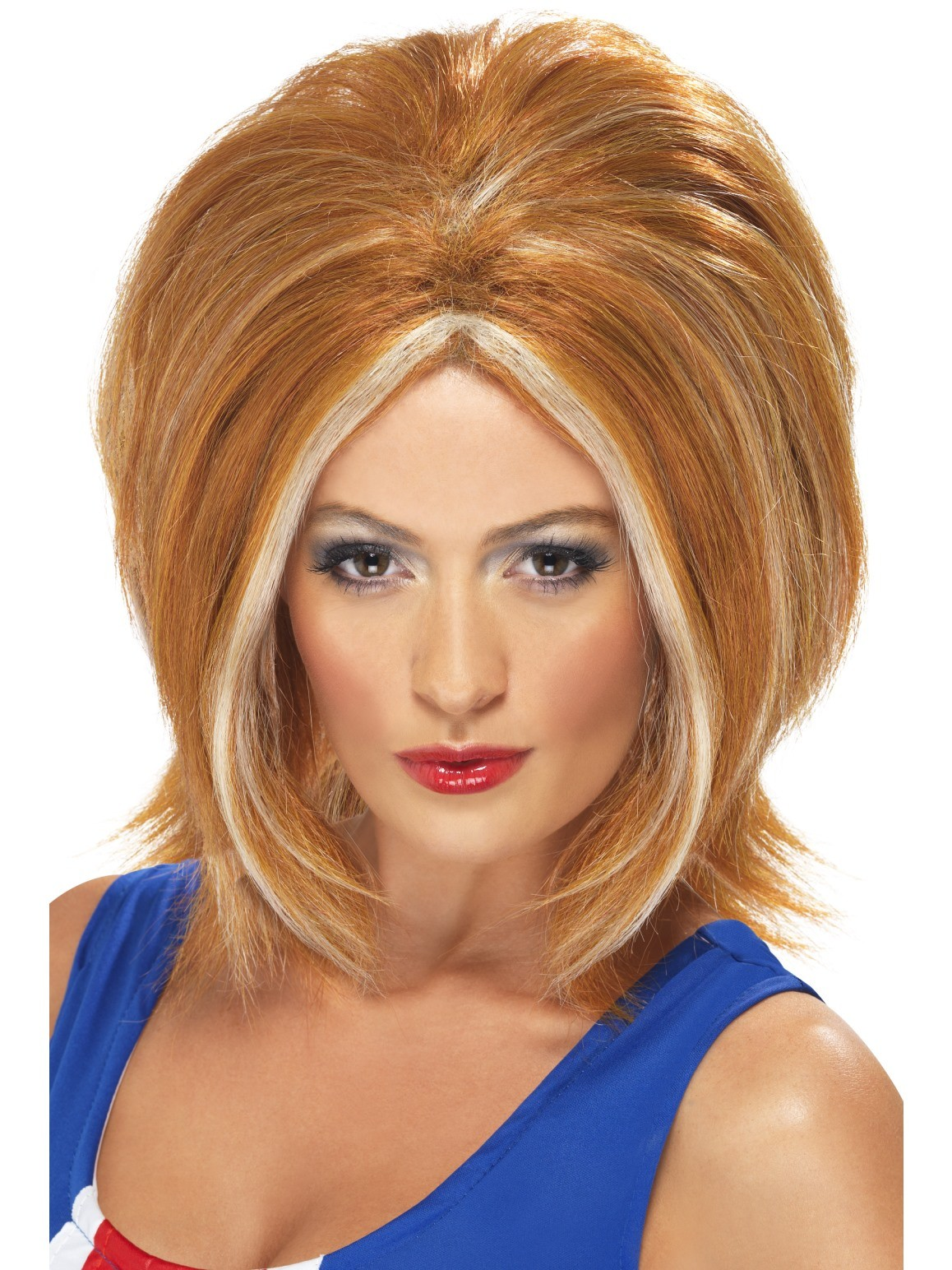 1990'S GINGER POWER WIG