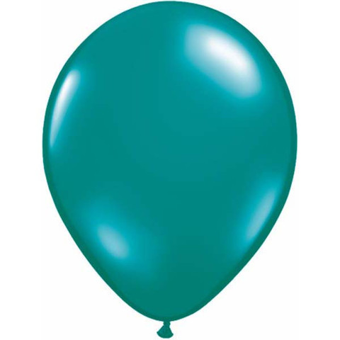 BALLOONS LATEX - TEAL GREEN JEWEL TONE PROFESSIONAL PK 25