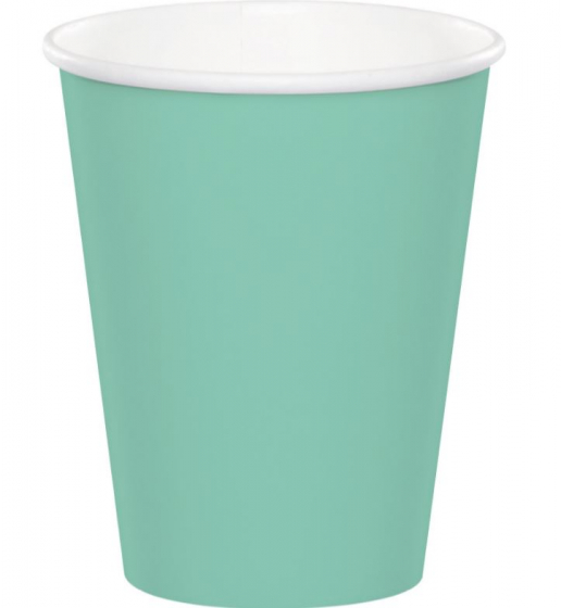 BOHO FRESH MINT CUPS PARTY CUPS - PACK OF 24